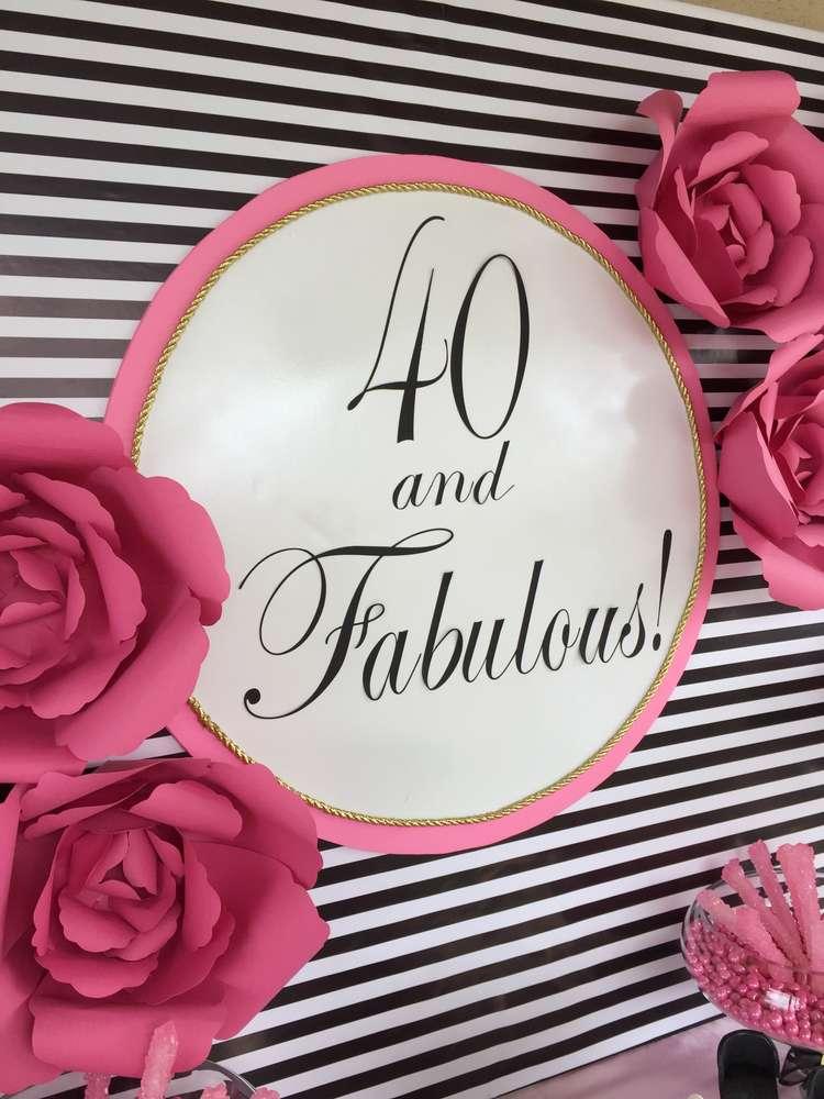 Fierce and Fabulous at40!